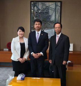 茨城県大井川知事表敬訪問